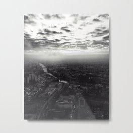 Misty Berlin Metal Print