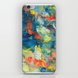Mindscapes: Did you get hit by a bus or just have a baby? iPhone Skin