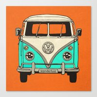 vw Canvas Prints featuring VW by Carl Christensen