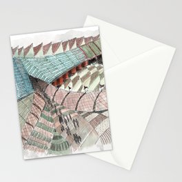 Meandering Landscapes: Welcoming Pathway Stationery Cards