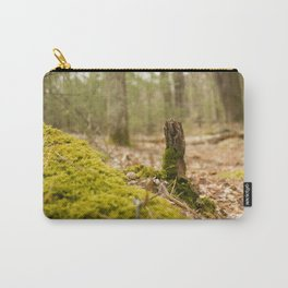 Mossy forest floor Carry-All Pouch