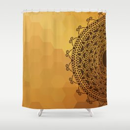 Ethnic Mandala Shower Curtain