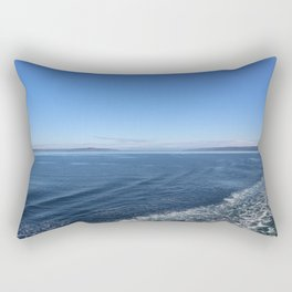 Edmonds-Kingston Ferry, WA Rectangular Pillow