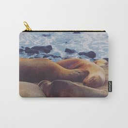 Sleeping Family Carry-All Pouch