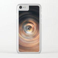 Copper Sphere Clear iPhone Case