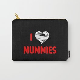 I heart Mummies Carry-All Pouch