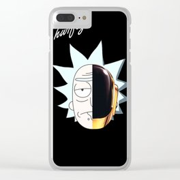 Get Schwifty Clear iPhone Case