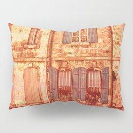 The Old Neighborhood, Rustic Buildings Pillow Sham