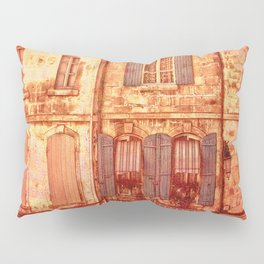 The Old Neighborhood, Rustic Buildings Pillow Sham