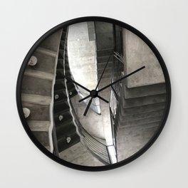 Jet Propulsion Stairwell Wall Clock