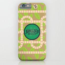 Jumanji, movie poster, Robin Williams film, Kirsten Dunst, Joe Johnston iPhone Case