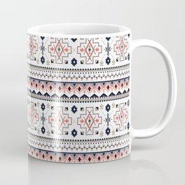 Native Aboriginal Tribal Pattern V.4 Coffee Mug