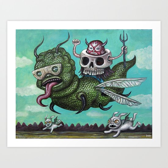 Ride of the Valkyrie Art Print