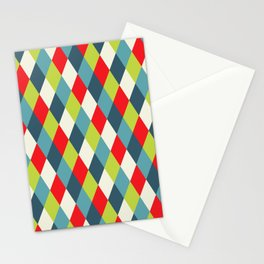 vintage  rhomb  Stationery Cards