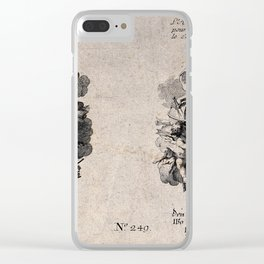 Johann Martin Will - Rococo Allegories of the Arts and the Sciences, particularly Astronomy Clear iPhone Case