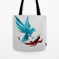 infamous Tote Bags featuring Infamous Second Son - Good Karma Delsin Rowe by MarcoMellark