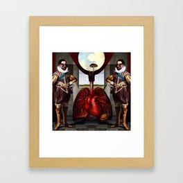 Boaz & Jachin Framed Art Print