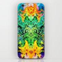 shiva iPhone & iPod Skins featuring Shiva by Aleks7