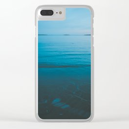 Summer of Love by the Sea II Clear iPhone Case