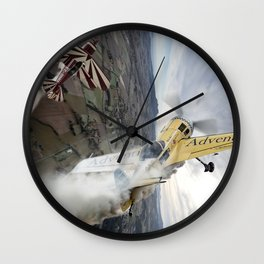 Aerobatic duel Wall Clock