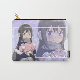 Akemi Homura in winter dress Carry-All Pouch