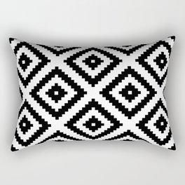 Tribal W&B Rectangular Pillow