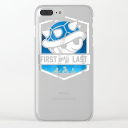 Nintendo Mario Kart Spiny Shell Banner Graphic T-Shirt Clear iPhone Case