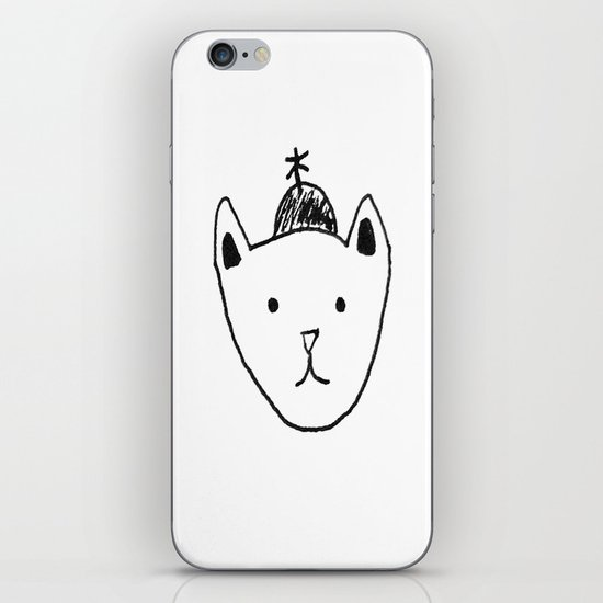 Being Fancy in a Hat iPhone & iPod Skin