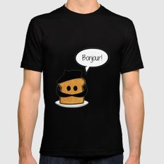 French Toast Mens Fitted Tee Black MEDIUM