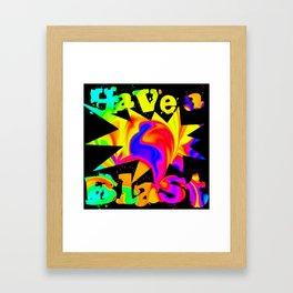 A Blast of Color Framed Art Print