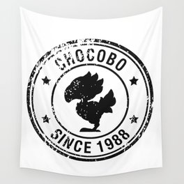 Chocobo since 1988 - Final Fantasy series Wall Tapestry