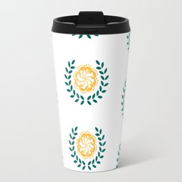 Tropical Wreath Travel Mug
