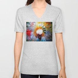 Dandelion Colored Unisex V-Neck