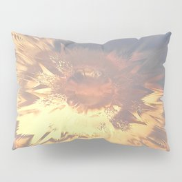 Sunset mandala explosion Pillow Sham