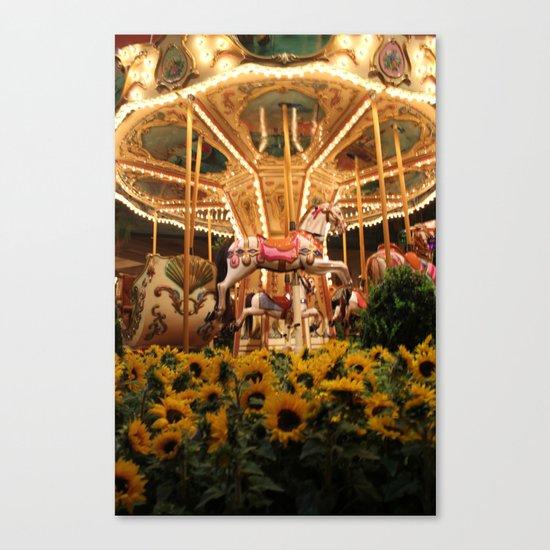 Merry-fields-go-round Canvas Print