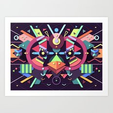 BirdMask Visuals - Swift Art Print