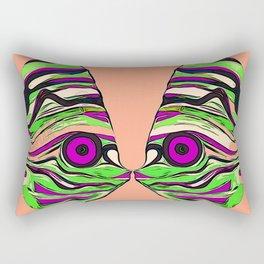 Tropical fish kiss Rectangular Pillow