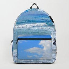 Corfu Island Greece Backpack