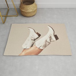 These Boots - Neutral Rug