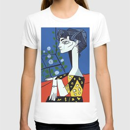 Picasso - Jacqueline with flowers T-shirt