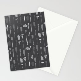 In The Kitchen — Grey Stationery Cards
