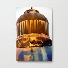 Rusty Dome Metal Print