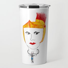 El Cristo de la trusa azul Travel Mug