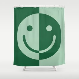 Happy Sage Shower Curtain