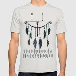 Bow, Arrow, and Feathers T-shirt