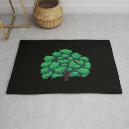 Oak Tree Pixelart Rug