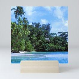 South Pacific Paradise Romantic Tropical Beach Mini Art Print