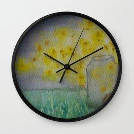 Light Catcher Wall Clock