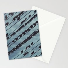 Parallel Murmuration Stationery Cards