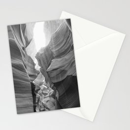ANTELOPE CANYON XXV (B+W) Stationery Cards